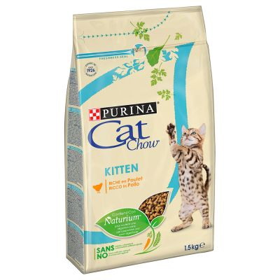 PURINA Cat Chow Kitten, poulet pour chaton