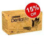 Purina Dentalife Daily Dental Care Dog Snacks - 15% Off!*
