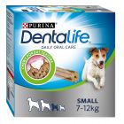 Purina Dentalife Daily Dental Care Snacks for Small Breed Dogs (7-12kg)