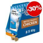 PURINA Dentalife Friandises à mâcher au poulet 8 x 40 g : 30 % de remise !
