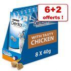 PURINA Dentalife Friandises à mâcher au poulet 6 x 40 g + 2 x 40 g offerts !