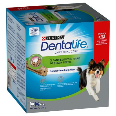 Purina Dentalife Snack per igiene dentale dei cani di tg media (12 - 25 kg)