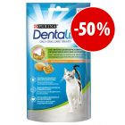 Purina Dentalife snacks dentales para gatos ¡con gran descuento!