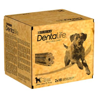 Purina Dentalife snacks dentales para perros grandes (25-40 kg)