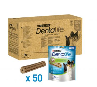Purina Dentalife snacks dentales para perros - Pack Ahorro