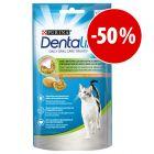 Purina Dentalife snacks para a higiene dentária dos gatos com grande desconto!