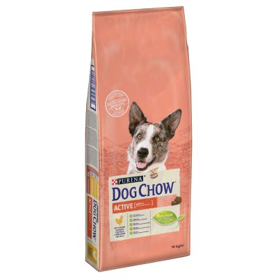 Purina Dog Chow Adult Active Pollo