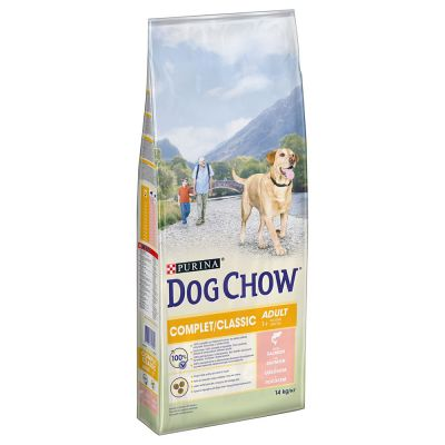Purina Dog Chow Complet/Classic met Zalm Hondenvoer