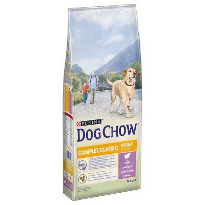 Purina Dog Chow Complet/Classic mit Lamm