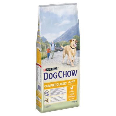 PURINA Dog Chow Complet/Classic, poulet