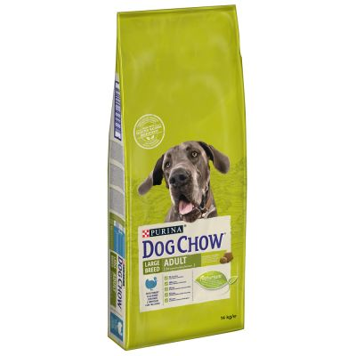 PURINA Dog Chow Large Breed, dinde pour chien