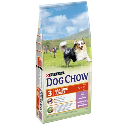 Purina Dog Chow Mature Adult Agnello