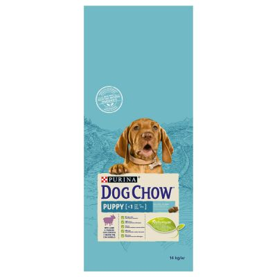 Purina Dog Chow Puppy com cordeiro e arroz