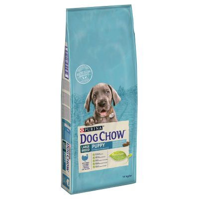 PURINA Dog Chow Puppy Large Breed, dinde pour chiot