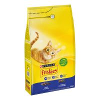 PURINA Friskies Adult colin, légumes pour chat