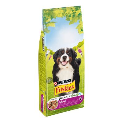 PURINA Friskies Adult Large Breed Maxi bœuf pour chien