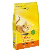 PURINA Friskies Adult poulet, légumes pour chat