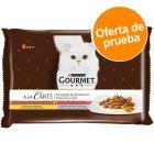 Purina Gourmet A la Carte en sobres 4 x 85 g - Pack de prueba