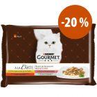 Purina Gourmet A la Carte sobres para gatos ¡a precio especial!