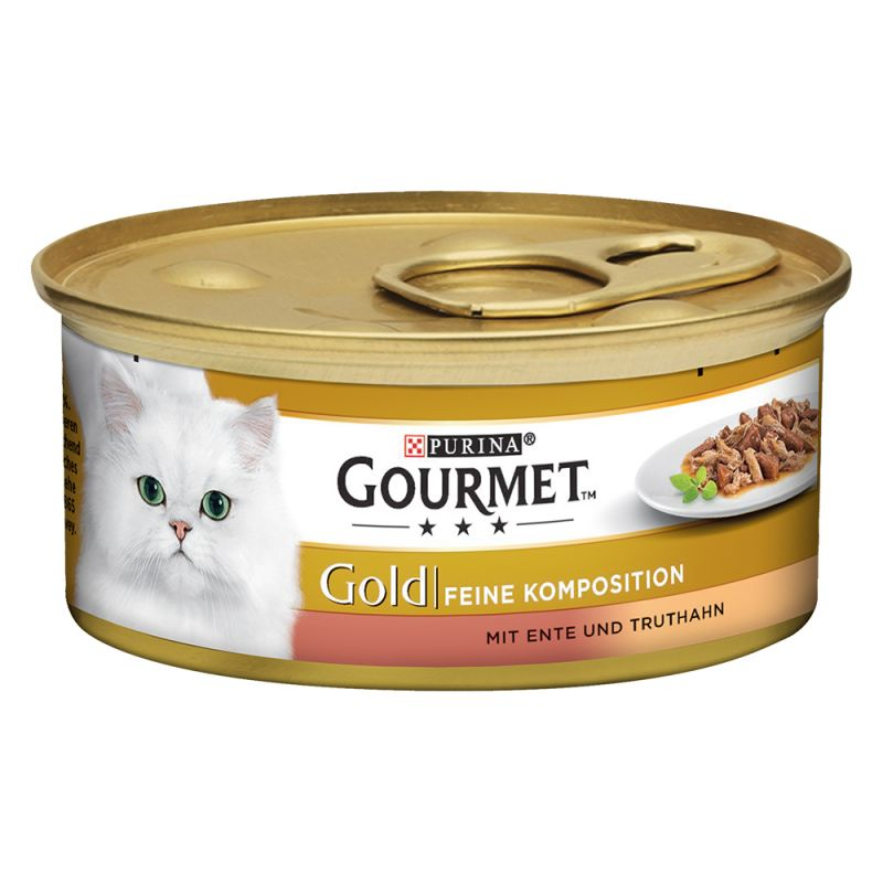Purina Gourmet Gold Doble Placer 12 x 85 g