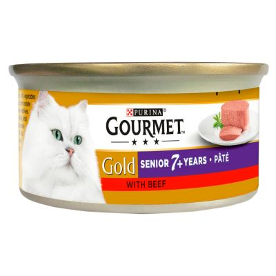 Purina Gourmet Gold Mousse Senior 24 x 85 g - Pack Ahorro