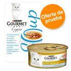 Purina Gourmet Gold Mousse y Soup con atún y gambas - Lote mixto de prueba