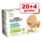 Purina Gourmet Nature's Creation 24 x 85 g en oferta: 20 + 4 ¡gratis!