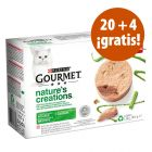 Purina Gourmet Nature's Creation 24 x 85 g en oferta: 20 + 4 ¡gratis!