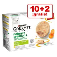 Purina Gourmet Nature's Creation 12 x 85 g en oferta: 10 + 2 ¡gratis!
