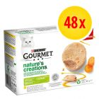 Purina Gourmet Nature's Creations Mousse 48 x 85 g