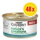 Purina Gourmet Nature's Creations 48 x 85 g