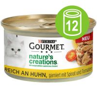 Purina Gourmet Nature's Creations 12 x 85 g