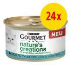 Purina Gourmet Nature's Creations 24 x 85 g