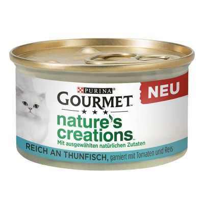 Purina Gourmet Nature's Creations 48 x 85 g - Megapack