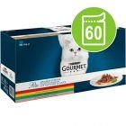 Purina Gourmet Perle 60 x 85 g - Pack mixto en sobres para gatos