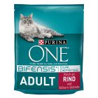 Purina ONE Adult для взрослых кошек с говядиной и рисом