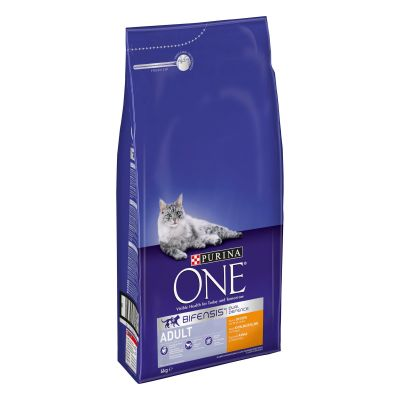 Purina ONE Adult Chicken & Whole Grains Dry Cat Food