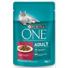 PURINA ONE Adult 6 x 85 g pour chat