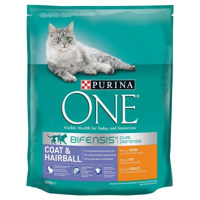Purina ONE Coat & Hairball pour chat