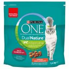 PURINA ONE Dual Nature Chat Stérilisé bœuf, spiruline