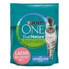 Purina ONE Dual Nature Lachs mit Spirulina