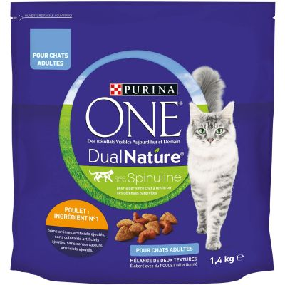 PURINA ONE Dual Nature poulet pour chat