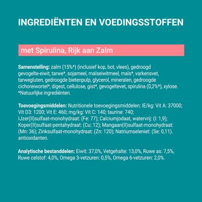 Purina ONE Dual Nature Sterilized Zalm met Spirulina Kattenvoer