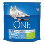 Purina ONE Indoor Kalkoen Kattenvoer
