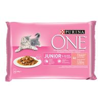 PURINA ONE Junior 4 x 85 g
