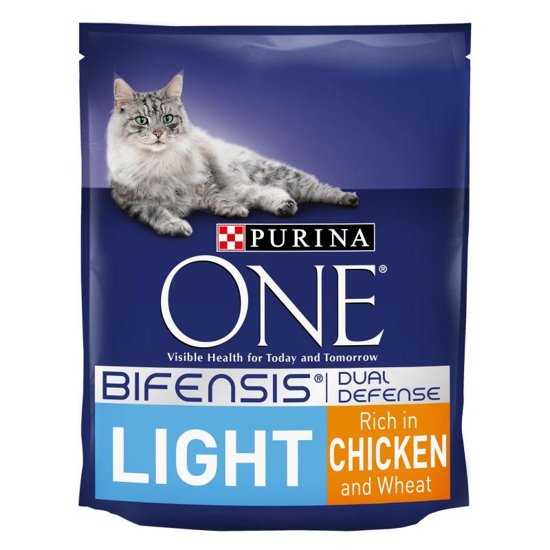 Purina ONE Light Chicken & Wheat Dry Cat Food