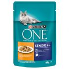 Purina ONE Senior 7+ Kip Kattenvoer