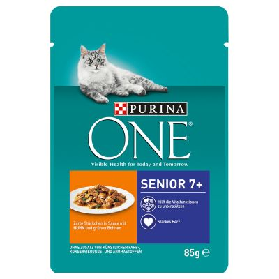 Purina ONE Senior 7+ 6 x 85g