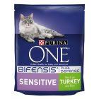 Purina ONE Sensitive Adult Turkey & Rice Dry Cat Food