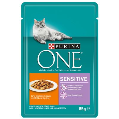 Purina ONE Sensitive mit Huhn & Karotten